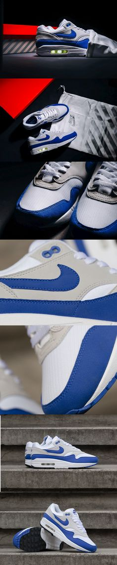 separation shoes 042b4 d3171 Nike Air Max 1 OG Anniversary Blue