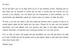 Carta De Cumpleaños Para Mi Novio | Fiesta Imagenes (shared via SlingPic)