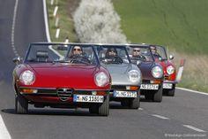 Alfa Romeo 2000 Spider, duetto & Giulia in der Toskana | Nostalgic Oldtimerreisen