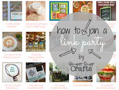 Ginger Snap Crafts: How To Join a Link Party & Link Party Tips {blogging tips}