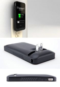 Never forget your charging cord again on vacation! I love this idea!