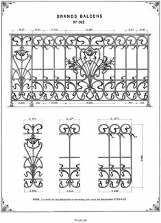 Welcome to Dover Publications - French Ornamental Ironwork Designs ...