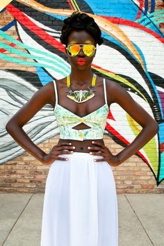 Gettin' Cheeky With It. BUSTIER TOPS Trend! http://thefashiontag.wordpress.com/2014/02/26/bustier-tops-trend-2014-spring-summer/ #fashion #streetstyle #bustiertops #springsummertrends
