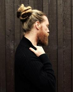 Don't know if I could trust a man with a better looking bun than mine.