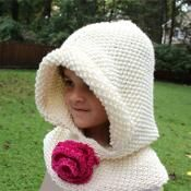Hooded Cowl - via @Craftsy