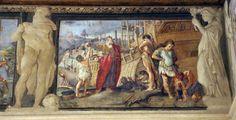 Bologna Palazzo Fava storia di Medea. Agostino Annibale Ludovico Carracci 1584