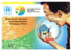 2015 World Environment Day. Issued date: 5 June 2015. Seven Billion Dreams. One Planet. Consume with Care.