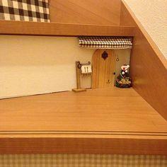 Miniature Rooms, Miniature Crafts, Miniature Houses, Diy Fairy Door, Fairy Doors, Mini Doll House, Deco Originale, Tiny World, House Inside