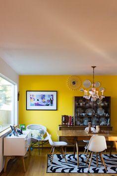 Maureen&Seth's SunlitSeattle Home (& Tropical Plant-Filled Atrium)