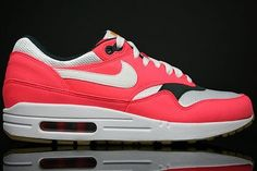 Nike Air Max 1 Women's Running Shoe Strawberry White Anthracite Gum,80% off for sneakers, impossible is nothing.