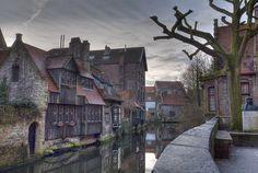 This photo was taken on February 20, 2009 in St-anna, Bruges, West-Vlaanderen, BE by David Bird