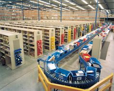 Dematic has developed a range of warehouse logistics and material handling system solutions, which can be configured to meet each customer's specific needs.