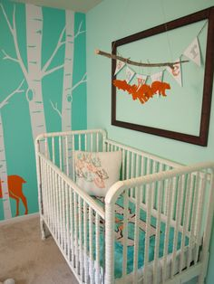 Tessa has this crib, which we will eventually switch out for the Jenny Lind Toddler bed (soon).