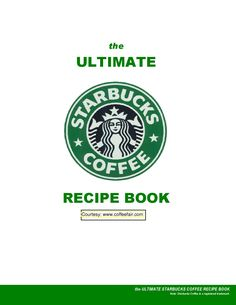 Coffee Recipes. Star