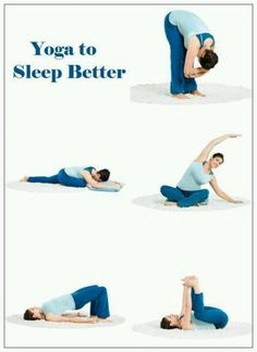 Yoga for for a better night's sleep.
