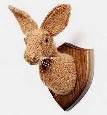 crochetdermy hare - Google Search
