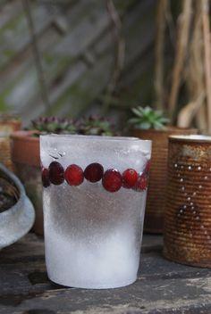 Weihnachtsdeko für den Garten: Eislaterne