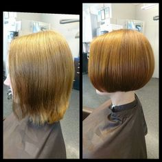 Before and after cut & color #Elumen # tukkatalo