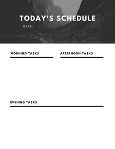 Choose from 50 different designs of free daily planner printables! Made to be simple, vertical calendar prints for your binder or desk. Black and white, minimalist, floral, and other options available. Cute Calendar, Daily Calendar, Print Calendar, Today's Schedule, Daily Planner Printable, Getting Organized, Binder, Minimalist, Printables
