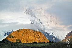 Los Glaciares National Park während der Wanderung zum Loma del Pliegue Tombado