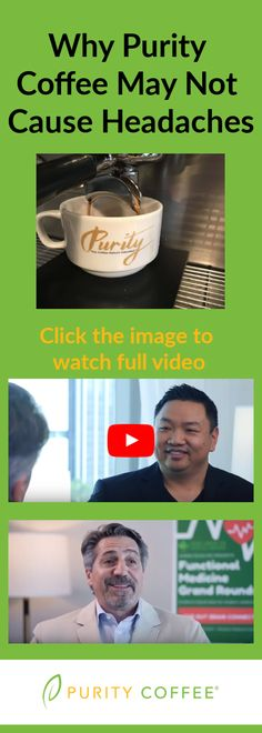 Interview with Andrew Salisbury, CEO of Purity Coffee at Functional Medicine Grand Rounds in Houston, TX.  High antioxidant coffees taste great. Usually contamination with chemicals as well as mold can alter the health benefits and taste of the coffee.  No Jitters, No acid reflux, no headaches, and no bad aftertaste. These are hallmarks of great coffee.   Integrating coffee into functional medicine is a new paradigm shift to help incorporate antioxidants into diet for health benefits.