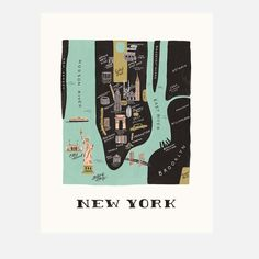 New York Print byRifle Paper Co.