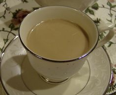 How to make your own Chai Latte using black tea and ground spices. The results are frugal and delicious!