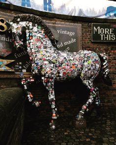 Camden Stables Market Graffiti Horse