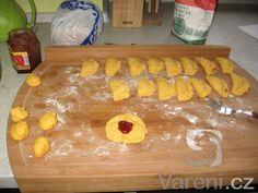 Mrkvové šátečky s marmeládou. Velice dobré. Butcher Block Cutting Board