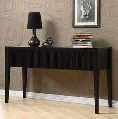 Classic Modern Design Console Table Dark Espresso Brown New #Modern