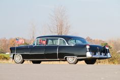 1955 Cadillac Fleetwood Seventy-Five Presidential Limousine by Hess & Eisenhardt