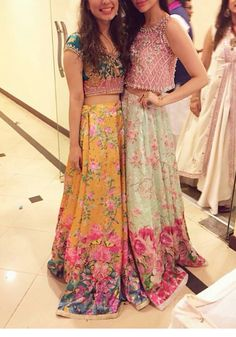 The one on the left is so nice and bright; looks like an Anthro dress
