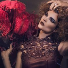 A sultry look to bring in the #newyear. Palace Costes - Styled by Anne Delalandre