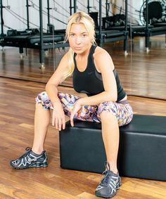 Tracy Anderson Teaches Us The 5-Move Winter Workout