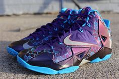 "best service e102d 13bc9 Nike LeBron 11 ""Summit Lake Hornets†(Release Info   Pictures"