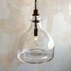 Rivendell Glass Pendant Chandelier eclectic pendant lighting