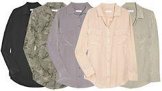 camp shirts in matte