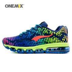 Onemix men s sports shoes women running breathable mesh male outdoor sneaker  lace up zapatos de hombre adult shoes size EU 36 46-in Running Shoes from  ... fba6401ddc0