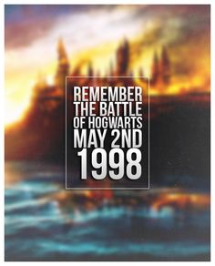 Remember, remember....