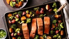 This Asian-inspired sheet-pan supper gets a tasty, flavorful meal on the table in less than an hour. And cleanup is easy with just one pan to clean!