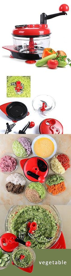 Choppers 178053: Manual Food Processor, Hand-Powered Miracle Chopper Baby Multi Vegetable Chopper -> BUY IT NOW ONLY: $31.69 on eBay!