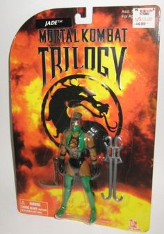 Toy Island Mortal Kombat Trilogy Jade