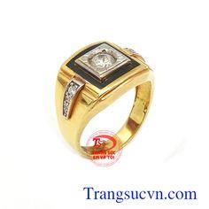 Nhẫn Nam Vàng Tây - Nhẫn Nam Đẹp - TRANG SỨC NAM - Công Ty Trang Sức Em Và Tôi -Trangsucvn.com
