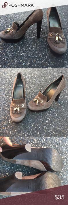 Stuart Weitzman brown suede pumps size 8, ships today 💕 Stuart Weitzman Shoes Heels