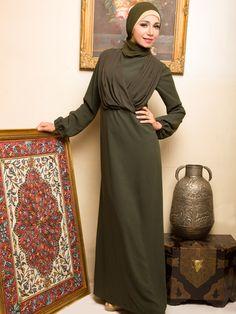 Chiffon Abaya | Dibaj Fashion Abayas & Hijab | 2Hijab