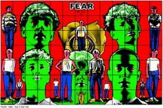 Fear by Gilbert & George Identity Artists, Gilbert & George, Fear 1, Anthony Caro, Hirst, Op Art, Artist Art, Contemporary Artists, Online Art