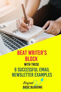 Here are 5 successful email newsletter template examples you can use to send personalized, useful and epic emails to your audience Writing Advice, Writing Services, Writing Prompts, Song Words, Teacher Memes, Journey Quotes, Content Marketing, Email Marketing, Digital Marketing