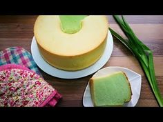 Home - YouTube Pandan Chiffon Cake, Baked Doughnuts, Vanilla Cake, Cake Recipes, Biscuits, Goodies, Homemade, Youtube, Desserts
