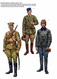 1920 Russo-Polish War 1919-1921 - L'armata Rossa avanza su Varsavia, 1920