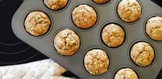 Zucchini Muffins for Baby (Dairy Free/Egg Free)